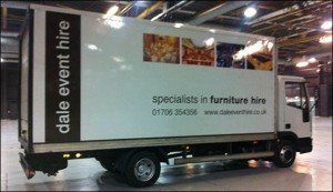 Dale Event Hire Lorry
